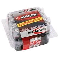 Batterie alkaline mignon AA