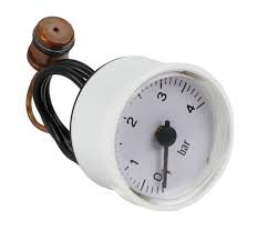 Manometer wit 0 - 4 bar