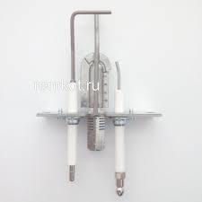 Waakvlambrander + electrodes