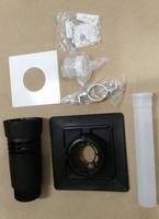 Renolux kit kompleet excl.flexibel ,plafonddoorgang diam 80