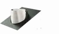 Solin inox avec bavette plomb 5-30° diam 80/130
