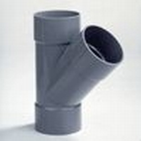 PVC Té 75 - 45° FFF à coller