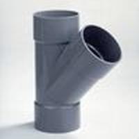 PVC Té 90 - 45° FFF à coller