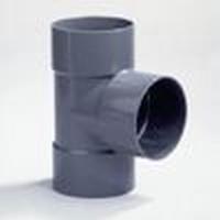 PVC Té 50 - 90° FFF à coller