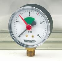 ABS manometer cv /rad 0-4 bar