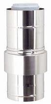 Luchttoevoer-element 80/125 PP120/inox