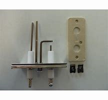Kit ontstekings- en ionisatie-elektrode (links)