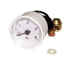 Manometer wit 0 - 4 bar(551091)