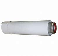 Verlengstuk alu/alu 60/100 x 250mm