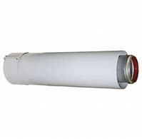 Verlengstuk alu/alu 60/100 x 1000mm