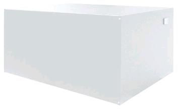 Onderliggende CV boiler 150L TS RAL 9016 WIT
