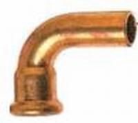 Gaspressbocht 15 - 90°mf