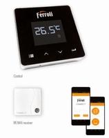 Connect, slimme wifi regelthermostaat met app